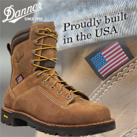 USA Made Danner Work Boots