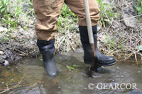 Steel Toe Chore Boot in water