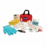 North Redi-Care First Aid Kit, Medium with CPR Barrier