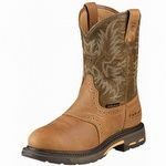 Ariat 10008635 Men's Workhog Pull-On H2O Composite Toe Aged Bark