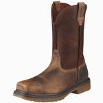 Ariat 10008642 Men's Rambler Pull-On Steel Toe Work Boot Earth