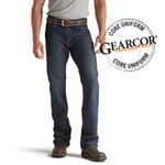 Ariat 10012555 Men's Flame Resistant M4 Low Rise Boot Cut Shale Jean