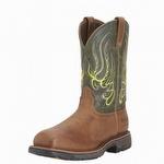 Ariat 10015400 Men's Workhog Mesteno H2O Composite Toe Boot