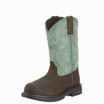 Ariat 10015405 Women's Tracey Pull-On H2O Composite Toe Turquoise