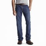 Ariat 10017262 Men's Flame Resistant M4 Workhorse Denim Flint Jean