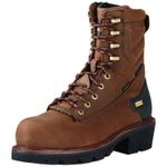 Ariat 10018567 Powerline 8in H2O Waterproof 400g Insulated CT Boot