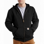 Carhartt 100632 Rain Defender Thermal Hooded Sweatshirt Black