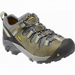 Keen 1007013 Detroit Low ESD Soft Toe Shoe Black / Green