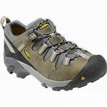 Keen 1007013 Detroit Low ESD Soft Toe Shoe Black / Green