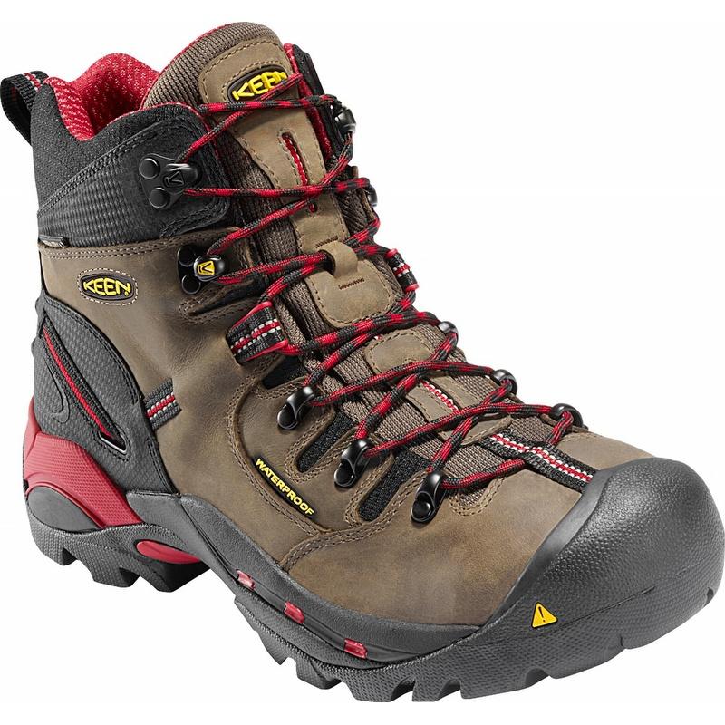 Keen 1007024 Pittsburgh Waterproof Steel Toe Work Boot