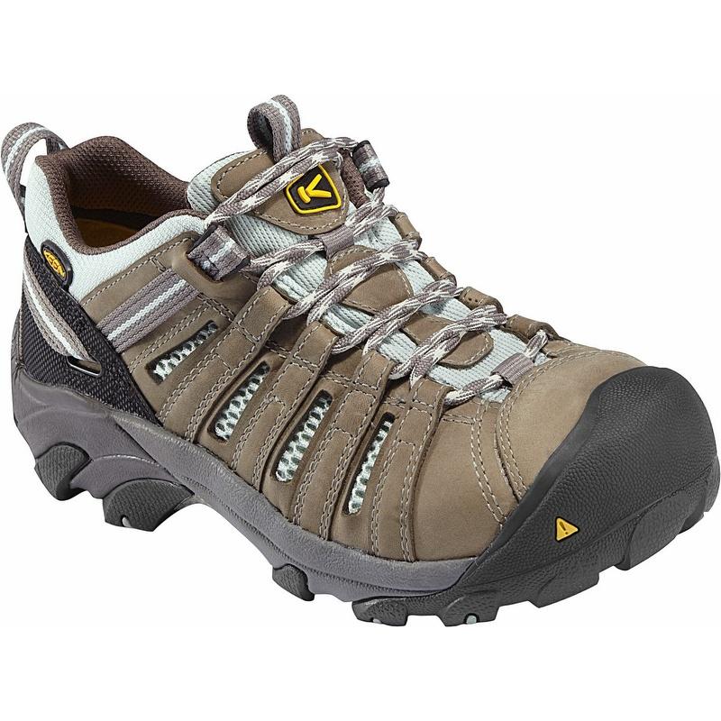 4630c4293d Keen 1008823 Women s Flint Low Steel Toe Work Shoe - 1008823