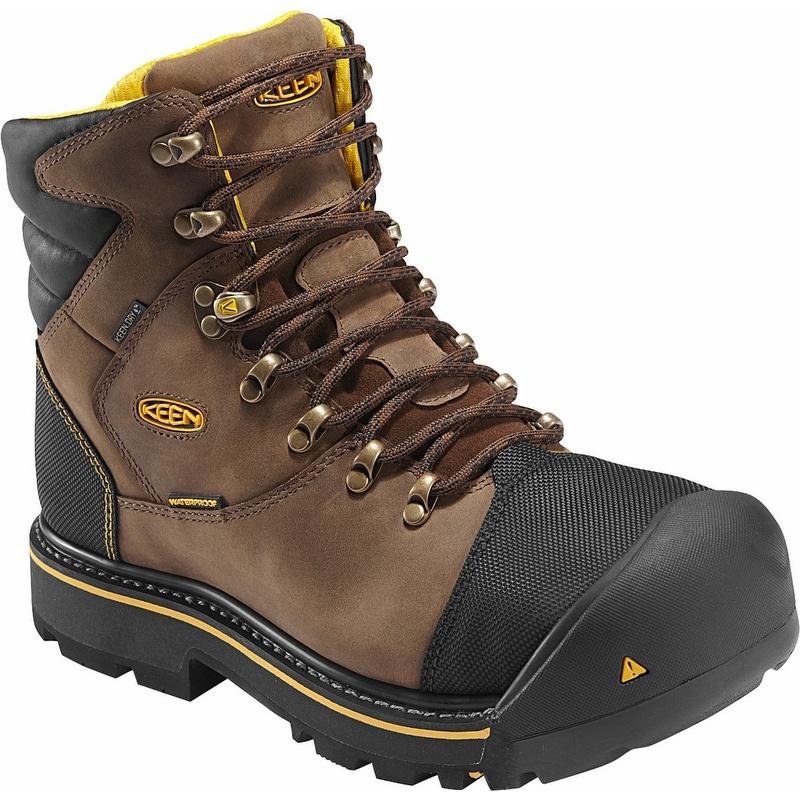 keen 1009174 milwaukee waterproof steel toe work boot