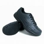 Genuine Grip 1011 Men's Slip-Resistant Steel Toe EH Lace Up Shoe Black