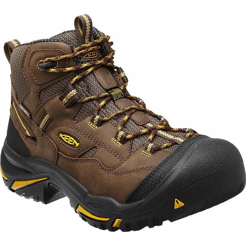 keen 1011242 braddock mid waterproof steel toe work boot