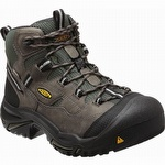 Keen 1011243 Braddock USA Mid Waterproof Steel Toe Work Boot Gargoyle