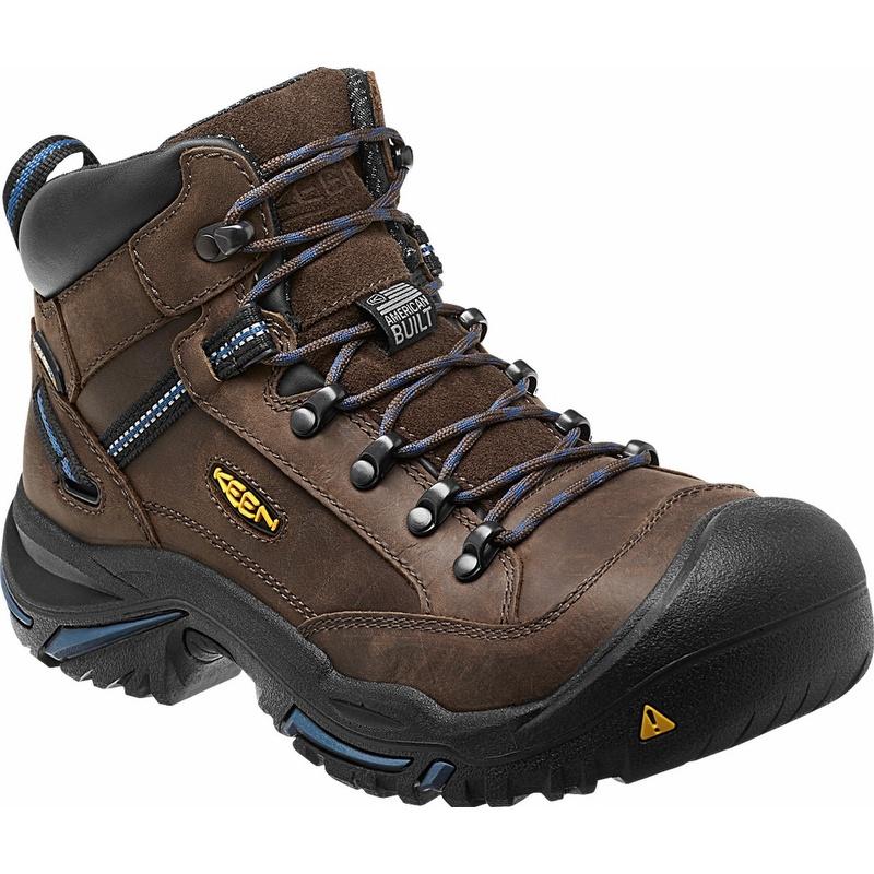 Keen 1012771 Braddock Usa Mid Leather Waterproof Steel Toe Work Boot