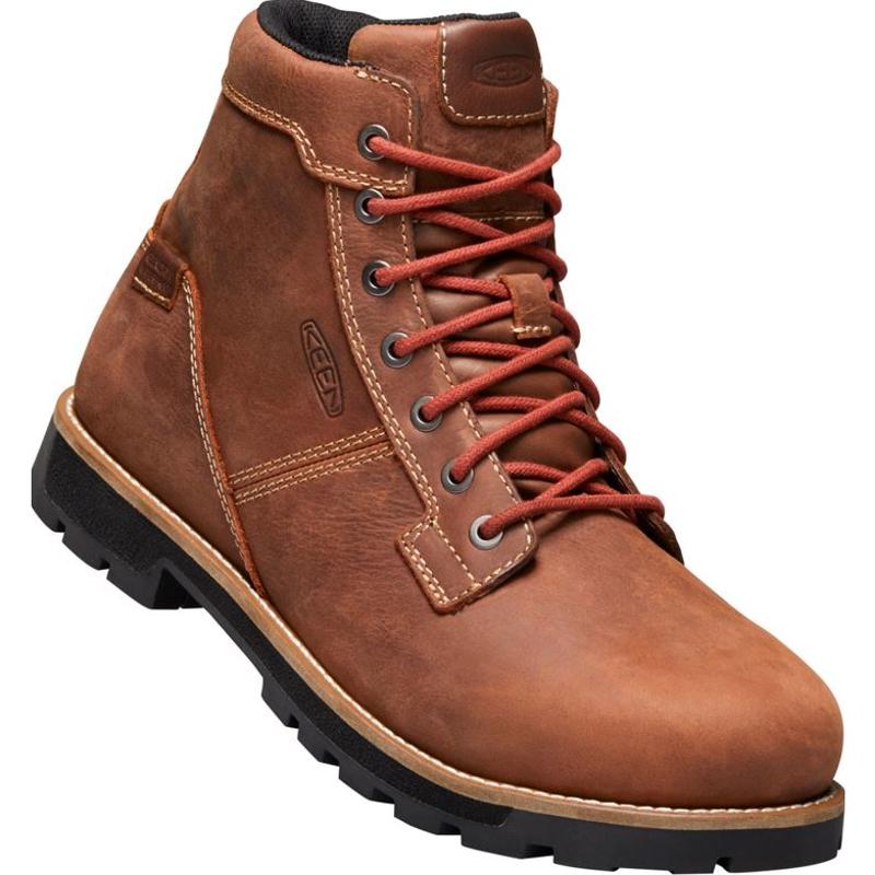 5a02888fd0dc Keen 1020062 Seattle 6 Inch Waterproof Safety Toe Boot Gingerbread
