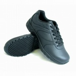 Genuine Grip 130 Women's Slip-Resistant Lace Up Athletic Shoe Black