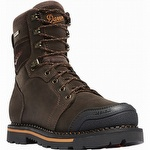 Danner 13243 Trakwelt 8 inch Non Metallic Safety Toe Work Boot Brown