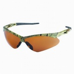 Jackson Safety Nemesis Safety Glasses Camo Frame Bronze Lens
