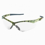 Jackson Safety Nemesis Safety Glasses Camo Frame Clear Anti Fog Lens