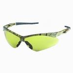Jackson Safety Nemesis Safety Glasses Camo Frame Amber Anti Fog Lens