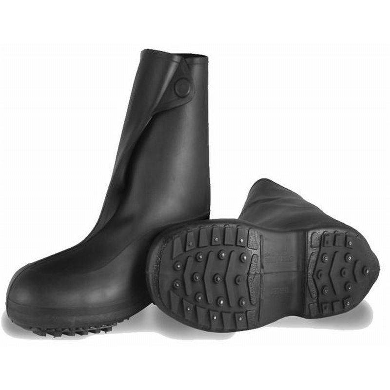 87ec93ff5d8c42 Tingley Ice Traction 10 inch Rubber Work Boot Overshoe - 1450