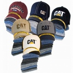 Caterpillar CAT 1490005 Cap and 6 Pack Sock Bundle