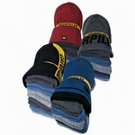 Caterpillar CAT 1490006 Knit Cap and 6 Pack Sock Bundle