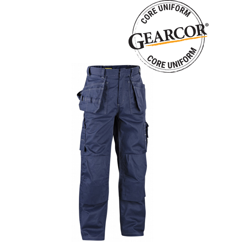 Size 34//34 Blaklader 172612108800C150 Trousers Navy Blue