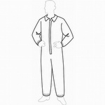 Liberty PermaGard All Purpose Disposable Coverall - Case of 25
