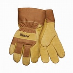 Kinco Waterproof Lined Suede Pigskin Gloves