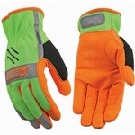 Kinco Hi-Vis Unlined Driver Easy-On Gloves