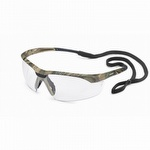 Gateway Conqueror - Camo Safety Glasses with Clear Anti-Fog Lens