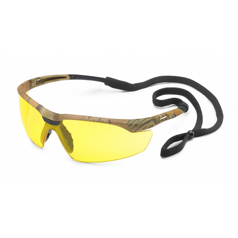 gateway conqueror camo safety glasses with amber antifog lens 28cm88