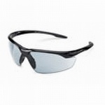 Gateway Conqueror - Black Frame Safety Glasses with In/Out Mirror Lens