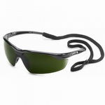 Gateway Conqueror Black Frame Safety Glasses with IR Filter Shade Lens