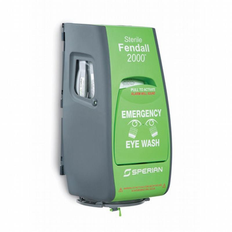 sperian eye wash station instructions
