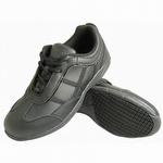 Genuine Grip 330 Women's Slip-Resistant Ultra Light Lace Up Shoe Black
