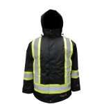 3957FRJ Viking Professional Insulated Journeyman Rip-Stop FR Parka