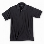 5.11 Professional Polo Short Sleeve Pique Knit Black