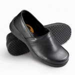 Genuine Grip 430 Women's Pro Comfort Slip-Resistant Slip On Shoe Black