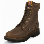 Justin 445 Rugged Bay Gaucho J-Max Lace-Up Steel Toe Work Boot