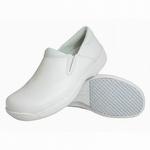 Genuine Grip 4705 Men's Slip-Resistant Lightweight Slip-On Shoe White