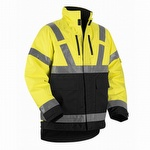 Blaklader 4927 Class 3 Hi Vis Waterproof Winter Jacket