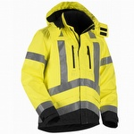 Blaklader 4937 Class 3 Hi Vis Waterproof Shell Jacket
