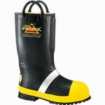 Thorogood Women's Rubber Insulated Fire Boot With Lug Sole