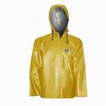 5125J Viking Journeyman Oil Resistant PVC Jacket with Hood Yellow