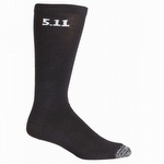 5.11 3 Pack 9-inch Sock Black