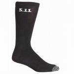 5.11 3 Pack 9-inch Sock Black